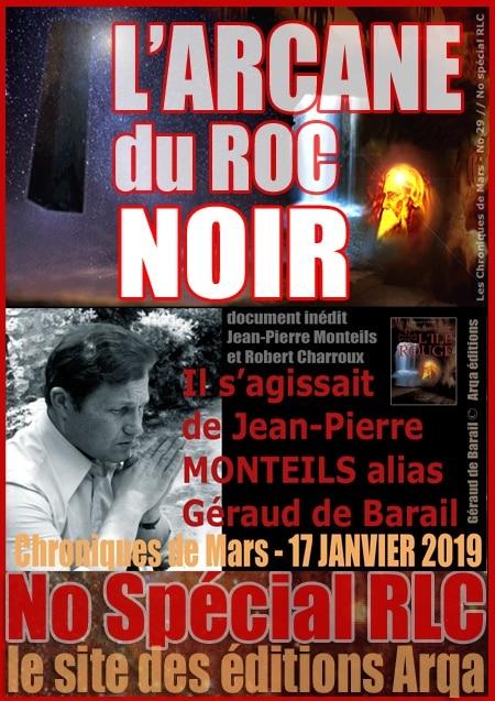 Interview de Jean-Pierre Monteils lors de la sortie de L'Arcane du Roc Noir