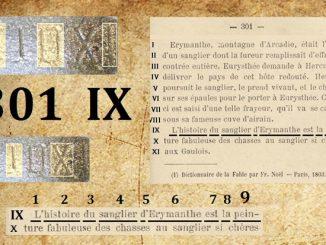 La page 301 de la Vraie langue celtique de l'abbé Boudet décrypte les Bergers d'Arcadie de Nicolas Poussin