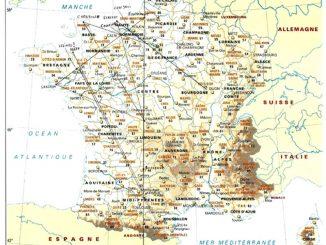 Géographie sacrée de la France