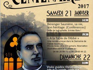 Colloque du centenaire du décès de Bérenger Saunière