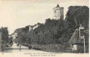 Le château de Tancarville rappelle la tour Magdala