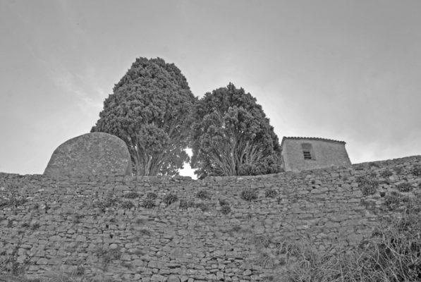 Rennes-le-Château février 2019 : le cimetière
