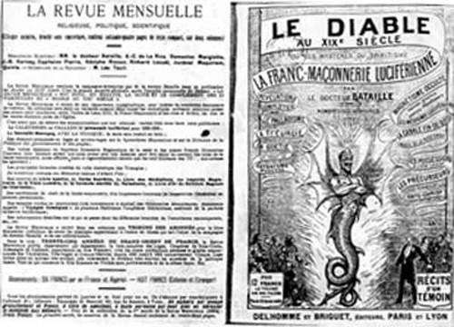 Le diable au 19e siècle en lien avec la franc-maçonnerie