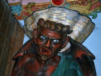 Asmodée, le diable restauré de Rennes-le-Château
