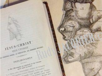 Coparaison de la tête du Christ et du montage de Rudy Jacquier