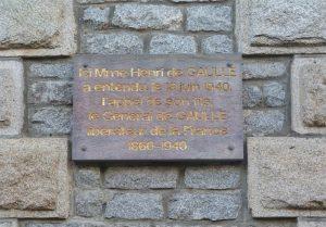 Jeanne de Gaulle a résidé à Paimpont