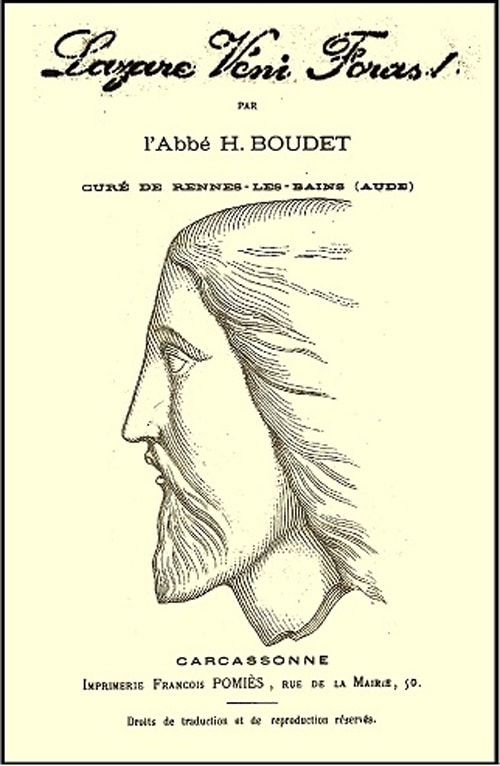 Le Lazare veni foras est-il de l'abbé Boudet ?