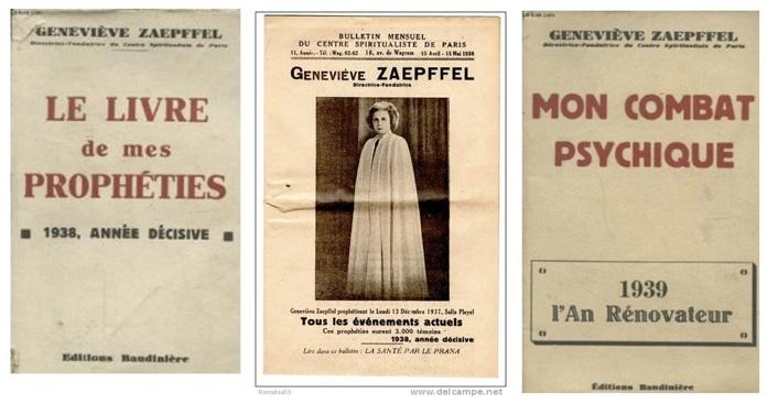 Le Livre de mes Prophéties de Geneviève Zaepfell