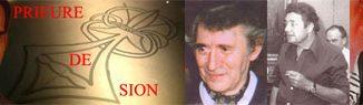 Le Prieuré de Sion, Pierre Plantard, Gérard de Sède