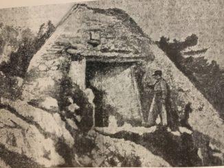 La pyramide de Falicon en 1926
