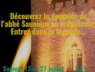 Visites nocturnes 2019 dans le domanie de l'abbé Saunière