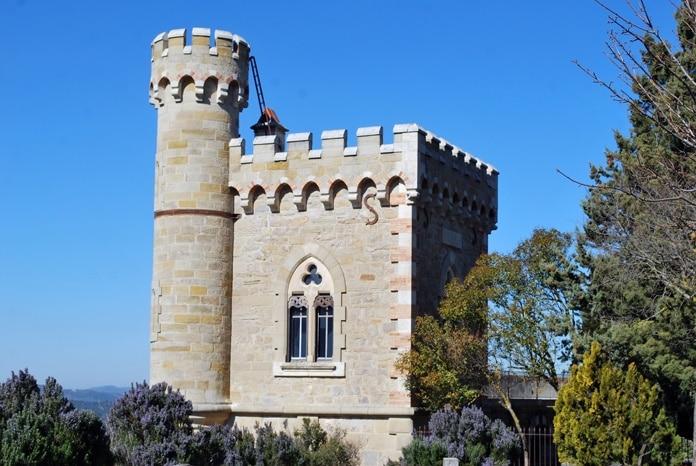 Tour Magdala de Bérenger Saunière, appelée avant la tour de l'Horloge