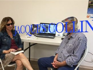 Kris Darquis et Jacques Collin en interview avant la conférence La réalité ultime