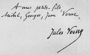 « Clovis Dardentor » de Jules Verne - La dédicace