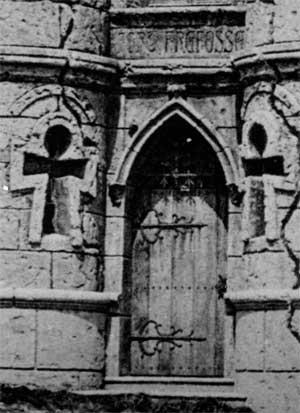 Etretat - Le Fort de Fréfossé (la porte d'entrée)
