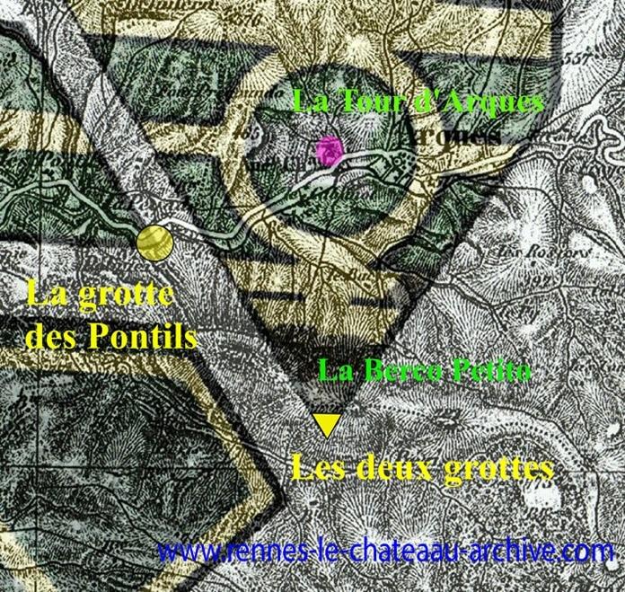 Domaine Saunière et grottes du Bézis