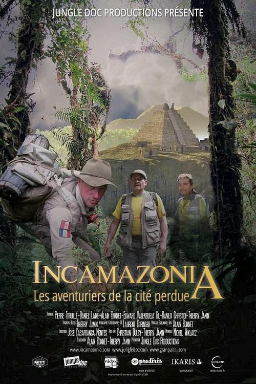 """Projection en avant-première du film de Thierry Jamin """"Incamazonia - Les aventuriers de la cité perdue"""" à Rennes-les-Bains"""