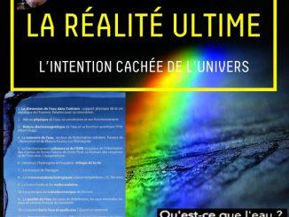 Jacques Collin donne ne conférence sur la réalité ultime, celle de l'eau