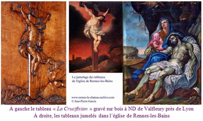 Piéta de Valfleury et Rennes-les-Bains