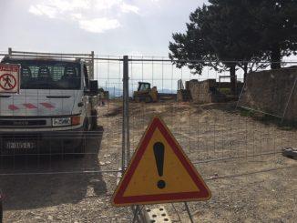 Les travaux prévus par la municipalité de Rennes-le-Château ont débuté en septembre 2019.