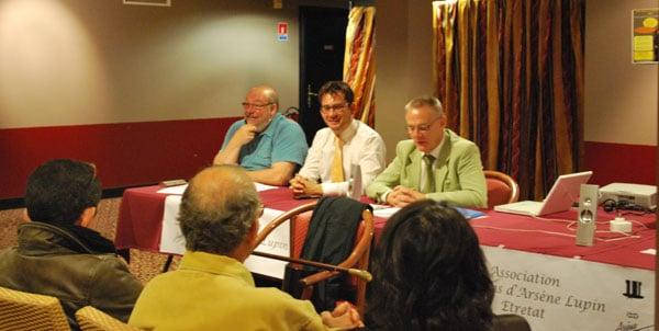 De droite à gauche : Pierre-Antoine Dumarquez, président, Frédéric Hemmer, vice-président et Pierre Dieulafait, trésorier : le bureau de l'AG de l'AAAL