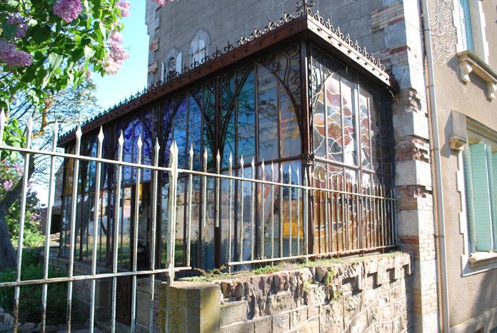 Autre tour de verre : la chapelle privée de Bérenger Saunière
