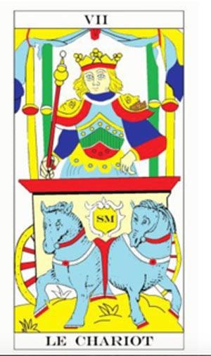 Ce jeune homme possède les attributs de la royauté. Il se tient à la jonction de deux lignées et son chariot s'est fixé dans une cité - Lefranc ©
