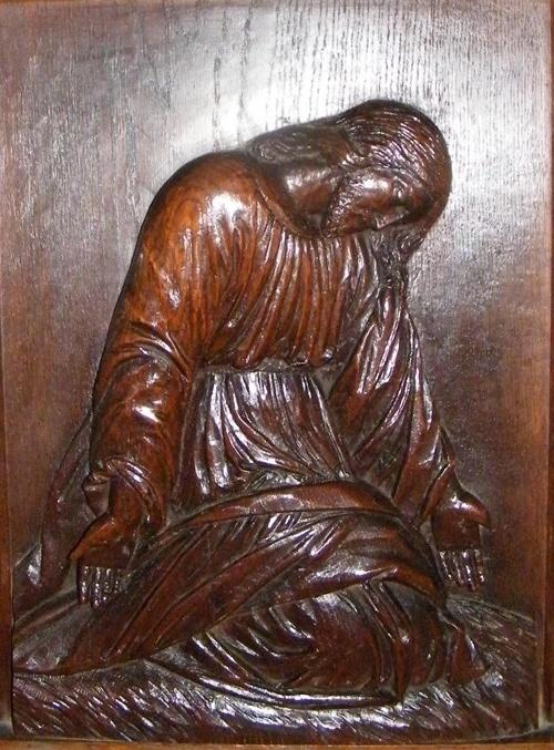 Christ, sculpture miniature - Patrick Merle ©