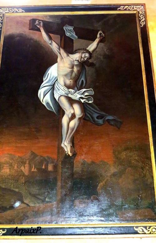 Crucifix de Pieusse - Arpaix ©