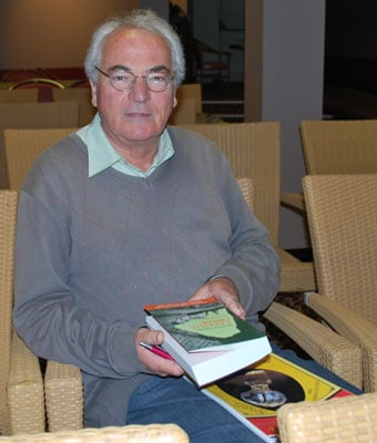 Jacques Derouard, membre de l'AAAL lors de l'AG de l'AAAL