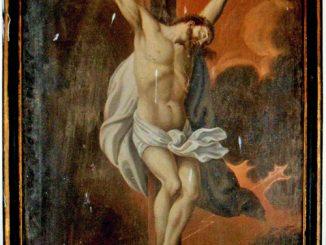 Crucifix lazariste de Magrie