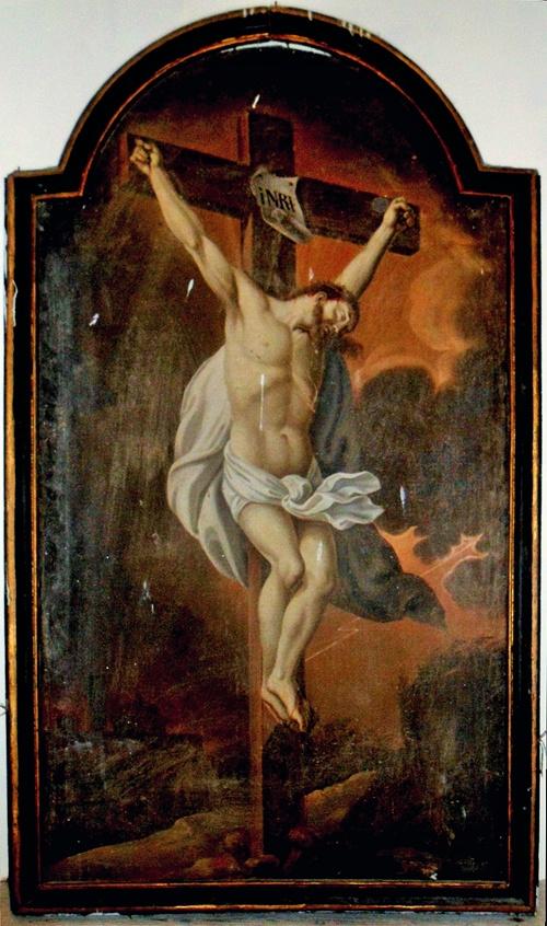 Crucifix de Gardie - Photo originale de Jean-Marie Villette, retravaillée par Patrick Merle