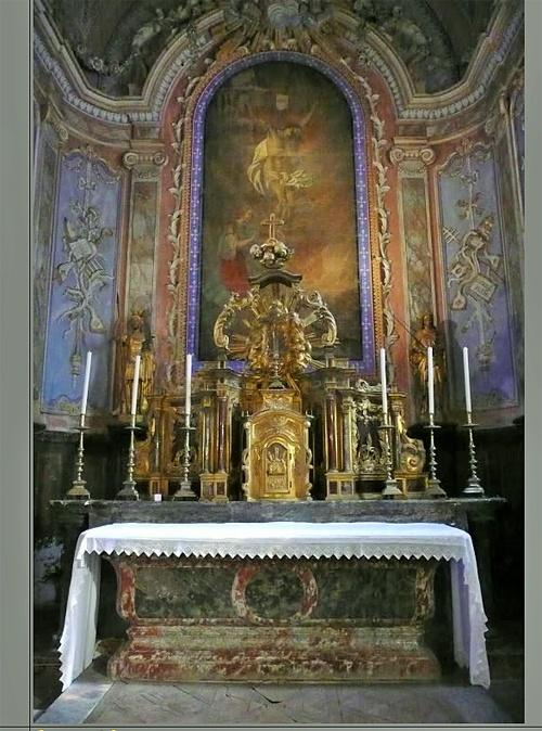 Choeur de l'église de Magrie - Patrick Merle ©