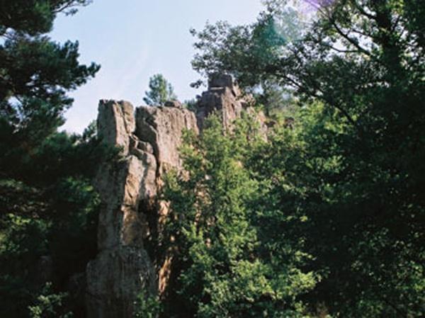 Le Pas de la Roque proche de Lavaldieu dans la chanson de Roland