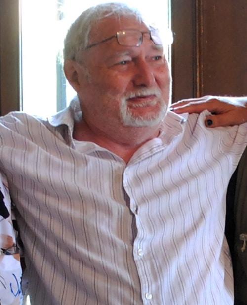 Pierre Silvains, alias Ulpian lors de sa réception au château de Cabrières le 22 juillet 2018 !
