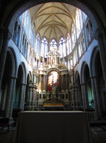 Abbatiale de l'abbaye Saint-Sauveur - Hemeac ©