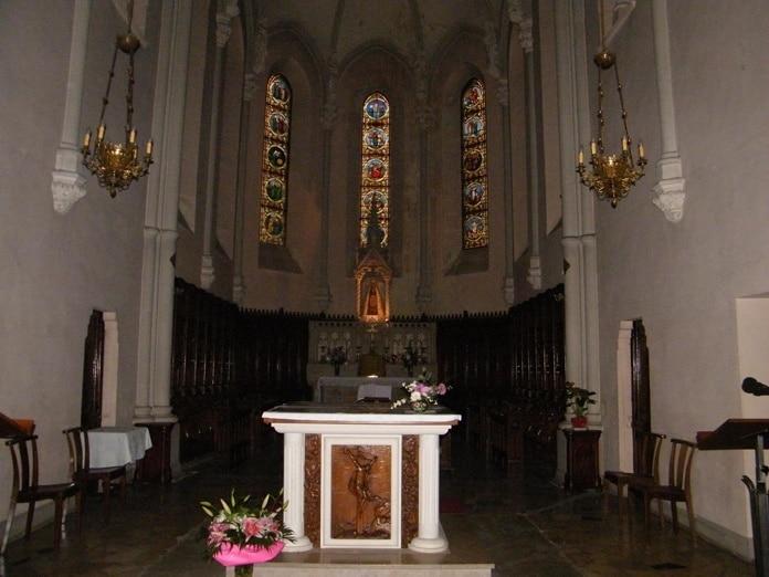 Choeur de l'église de Valfleury - Patrick Merle ©