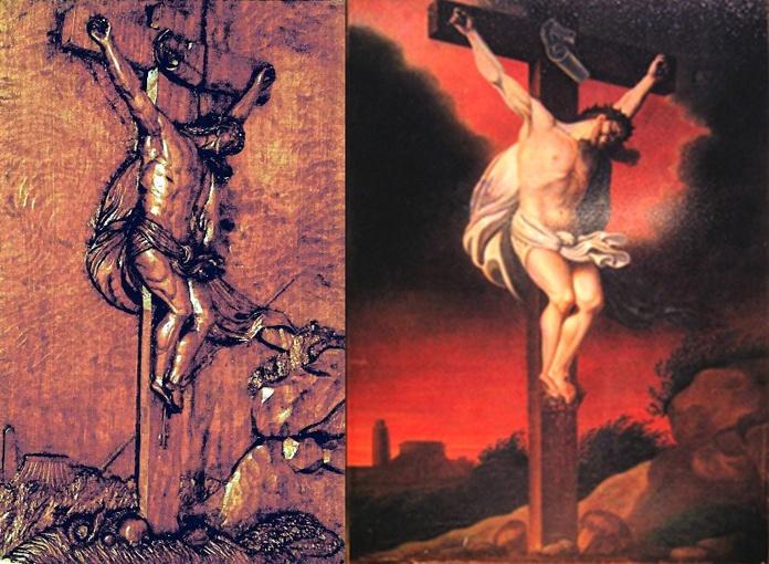 Couplage des Crucifix de Valfleury et Rennes-les-Bains (DR)