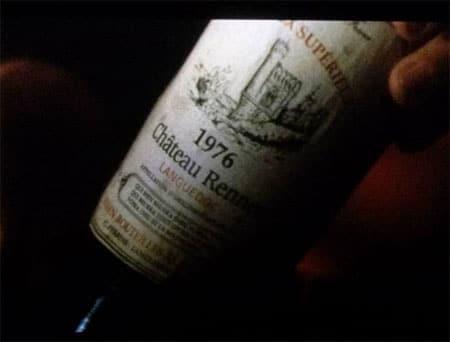 Dans le film Da Vinci Code, un vin château Rennes...