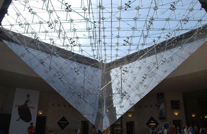 Pyramide inversée du Louvre