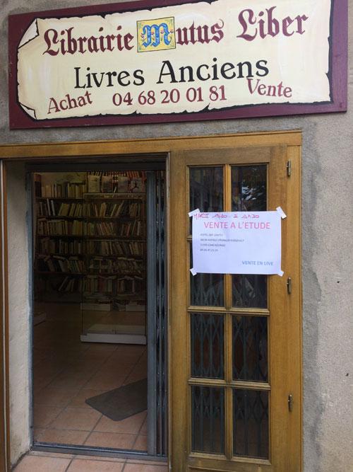La bouquinisterie de Rennes-le-Château l'Atelier Empreinte