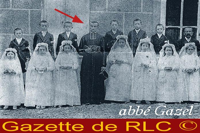 L'abbé Gazel Pierre Louis du village de Floure