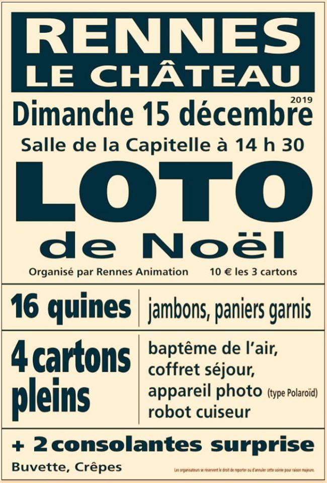 Domaine Saunière loto de Rennes-le-Château