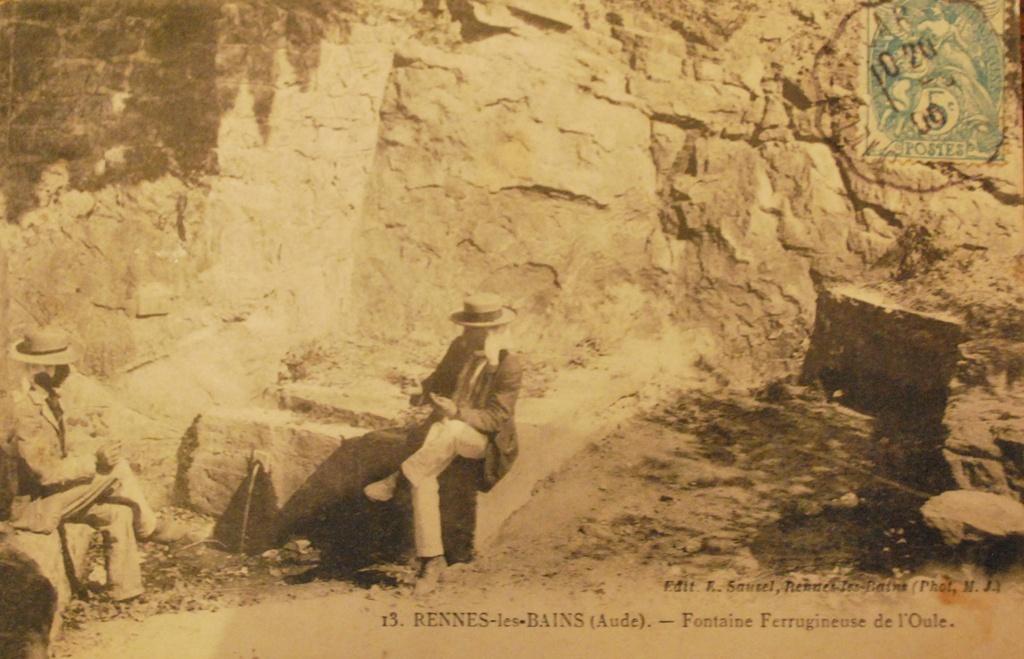 Source de la Oule à Rennes-les-Bains