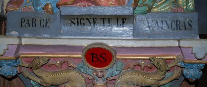 PAR CE SIGNE TU LE VAINCRAS, devise du Cercle catholique de Narbonne
