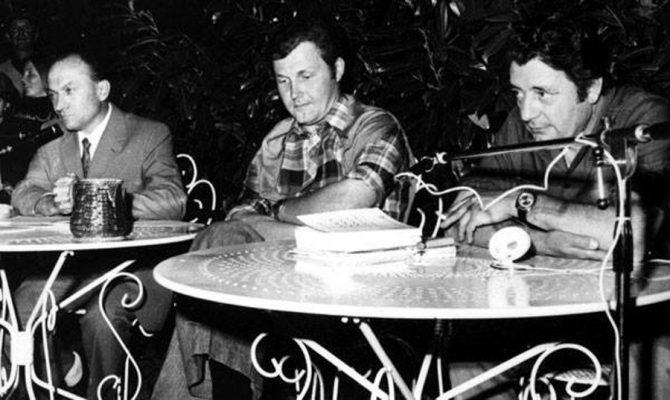 De gauche à droite, Henri Buthion, Jean-Pierre Monteils et Gérard de Sède (DR)