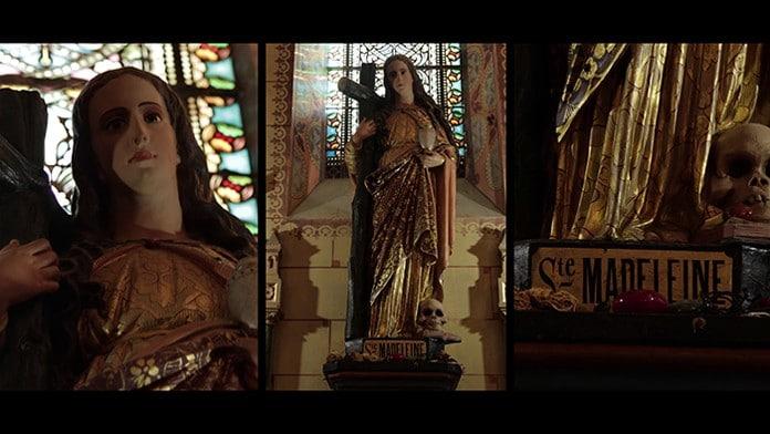 Sainte Marie Madeleine dans l'église de Rennes-le-Château