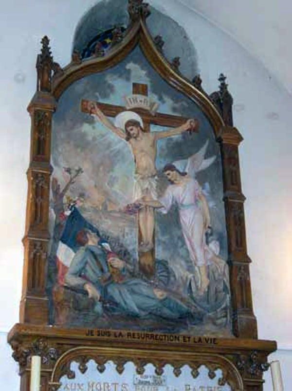 Monument aux morts de l'église Saint Gimer de Carcassonne