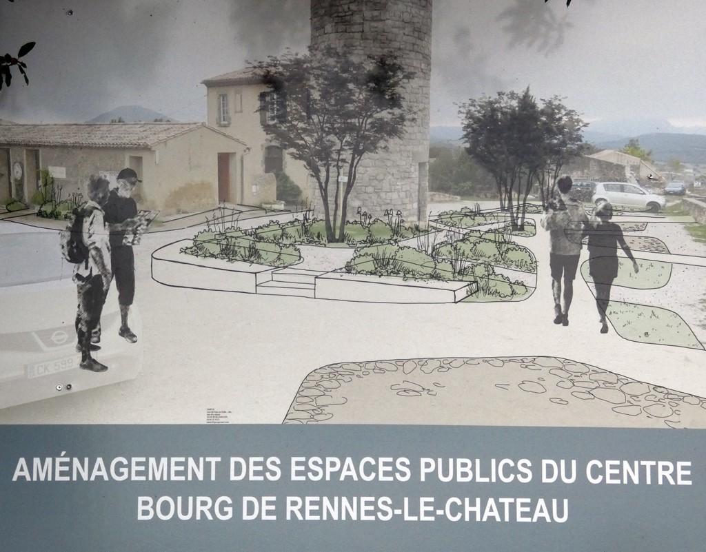 Promenade à Rennes-le-Château au belvédère