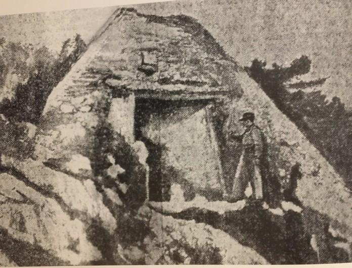 Photo de la pyramide de Falicon en 1926